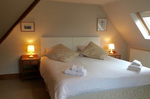 Corner Cottage Bedroom, Broadway Manor Cottages, Cotswold holiday cottages in Broadway