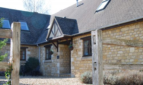 Entrance, Corner Cottage, Broadway Manor Cottages, Cotswold holiday cottages in Broadway