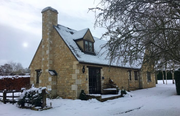 Sheldon Cottage Snow Broadway Cotswolds