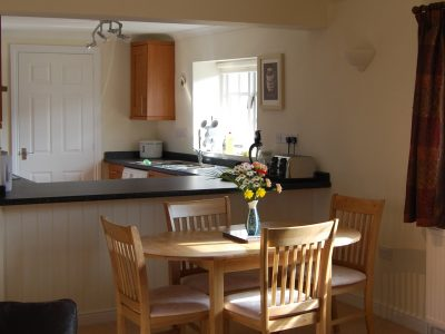 Dining area, The Stables, Cotswold accommodation, Broadway Manor Cottages