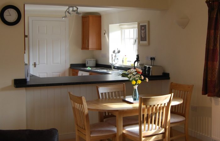 The Stables Cotswold holiday accommodation dining