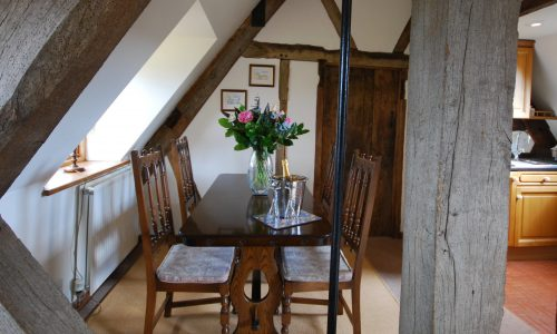 Rafters, Cotswold holiday apartment, Dining Area