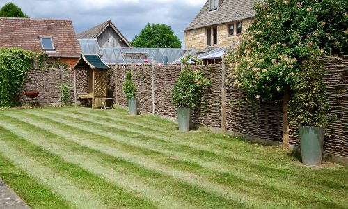Garden at The Stables ground floor holiday cottage, Broadway