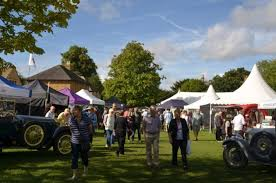 Broadway Food Festival, village green, Broadway, Worcestershire