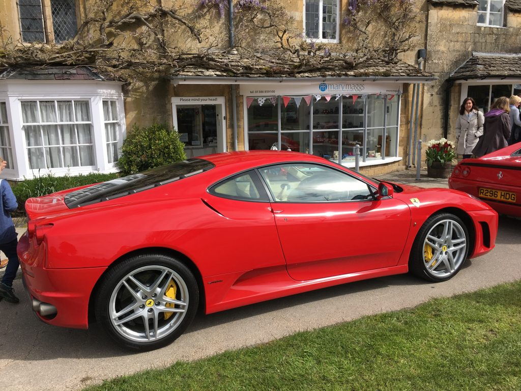 Ferrari Owners Club Broadway Cotswolds