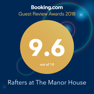Rafters at The Manor House, Broadway Manor Cottages, Winner of a 2018 Guest Review Award from Booking.com