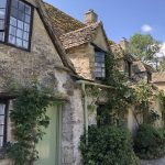 Cotswold stone cottages in Bibury