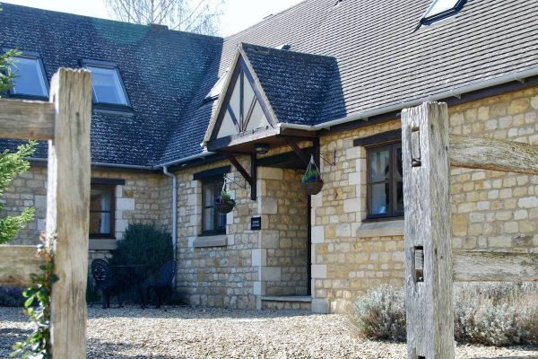 Entrance, Corner Cottage, Broadway Manor Cottages, Cotswold holiday cottages in Broadway