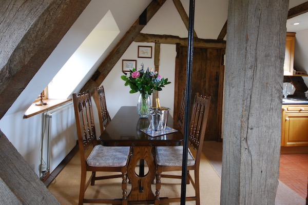 Rafters, Dining area