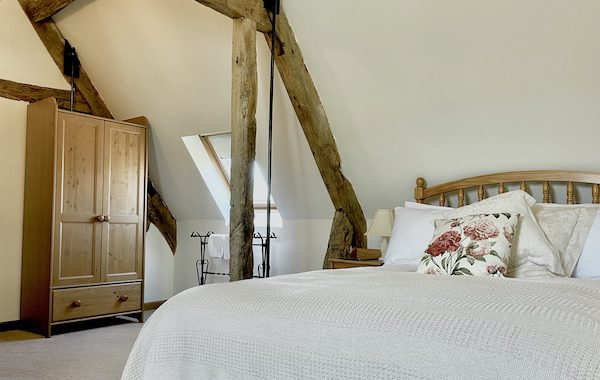 Rafters at The Manor House, Bedroom